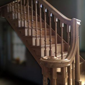 Bespoke carpentry and joinery, stairs