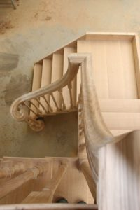 bespoke oak staircase made to fit your home