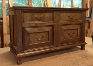 bespoke oak chest
