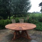 bespoke garden table
