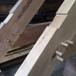 oak trusses made to order