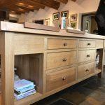 bespoke fitted kitchen island